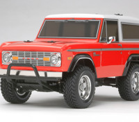 Tamiya 1/10 escala Ford Bronco 1973 / CC01 Serie 58469 Kit