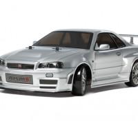 Kit R34 Serie TT02D Tamiya 1/10 escala Skyline GT-R Z-Tune 58605