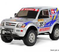 Tamiya 1/10 Escala Mitsubishi Pajero Rally Sport (CC-01 Chasis) 58602