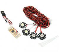 Sistema de Navegación Quanum Quadcopter luz LED