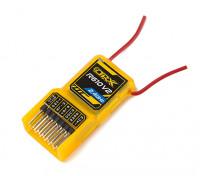 OrangeRx R610V2 DSM2 Compatible receptor 6CH 2.4GHz w / CPPM