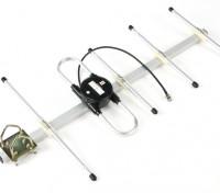 Long Range System Scherrer 433Mhz antena Yagi
