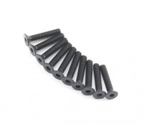 Plano del metal Machine Head Tornillo hexagonal M2.6x14-10pcs / set