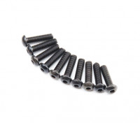 Ronda de metal Machine Head Tornillo hexagonal M2.6x10-10pcs / set