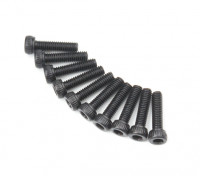 Zócalo de metal Machine Head Tornillo hexagonal M2.6x10-10pcs / set