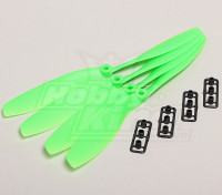 GWS Estilo Slowfly hélice 8x4.5 Verde (CW) (4pcs)