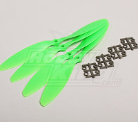 GWS Estilo Slowfly hélice 9x4.7 Verde (CW) (4pcs)