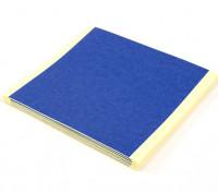 Turnigy azul 3D Impresora hojas de cama de cinta 85 mm x 85 mm (20 piezas)