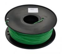 HobbyKing 3D Filamento impresora 1.75mm PLA 1kg de cola (verde oscuro)