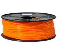 HobbyKing 3D Filamento impresora 1.75mm PLA 1kg Carrete (naranja)