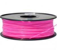 HobbyKing 3D Filamento impresora 1.75mm PLA 1kg Carrete (rosa fuerte)