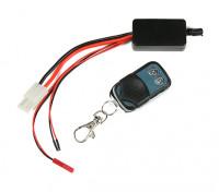 Controlador remoto inalámbrico del torno con receptor inalámbrico