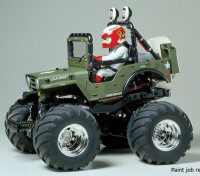 Tamiya 1/10 escala Wild Willy 2 w / WR-02 Series Kit 58242