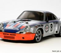 Tamiya 1/10 escala Porsche 911 Carrera RSR (TT-02 Chasis) 58571