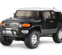 Tamiya 1/10 escala Toyota FJ Cruiser Negro Edición Especial (CC-01 Chasis) 58620