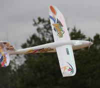 HobbyKing® Noche morsa Planeador w / Flaps EPO 1400mm (PNF)