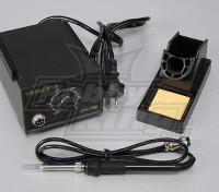 Estación de soldadura con la gama de calor ajustable con AUS Plug (UA de almacenes)