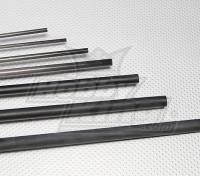 De carbono varilla de fibra (sólido) 2.0x750mm