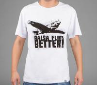 HobbyKing Ropa Balsa vuela mejor camisa de algodón (XL)