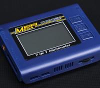 Turnigy ™ 7en1 batería del inspector / Medidor de vatios / Servo Tester Medidor de Mega