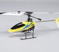 Solo Pro 328 de 4 canales helicóptero fijo Pitch - Amarillo (RTF) enchufe de EE.UU.