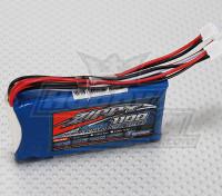 Zippy Flightmax 1100mAh 6,6 V LiFePo4 Receptor Paquete 2S1P