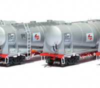 Southern Rail HO Scale 4 Car Set NSW NPRF Cement Hoppers with SRA Red/Yellow L7 Logo Series 3