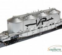 Southern Rail HO Scale Victorian FX1 3 Car Sand and Flour Hopper Set VR Logo (1990)