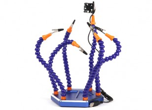 Turnigy Six Arm Soldering Station (w/USB Fan)