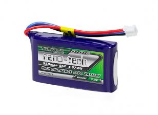 Turnigy nano-tech 550mAh 2S 65C Lipo Pack