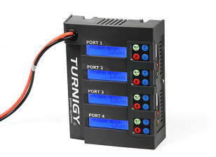 Turnigy Quad 4x6S Lithium Polymer Charger 400W DC Only
