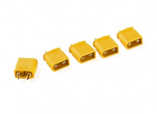 XT30U-M Male Only (ESC Side) (5pcs)