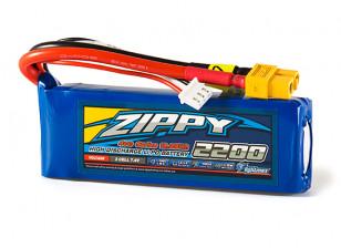 ZIPPY Flightmax 2200mAh 2S1P 40C LiPo Pack w/XT60