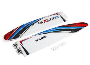 HobbyKing Bixler 2 EPO 1500mm - Replacement Main Wing (Blue/Red)