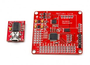 MultiWii Lite V1.0 regulador de vuelo w / FTDI
