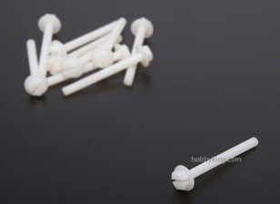 Tornillos de nylon 6x60mm (10pcs)