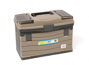 Multipropósito Tool Box w / cajones (grande)