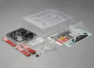 Kit MatrixLine policarbonato de la carlinga para Camiones 1/10
