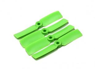 DIATONE Bull Nose policarbonato Propulsores 3545 (CW / CCW) (Verde) (2 pares)