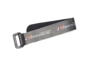 200 mm grafeno correa de velcro de la batería