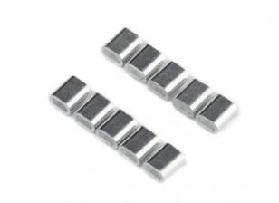 Para prensar tubo de alambre de acero (10pcs / bag)