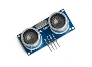 La distancia del sensor ultrasónico del módulo HC-SR04 de Kingduino