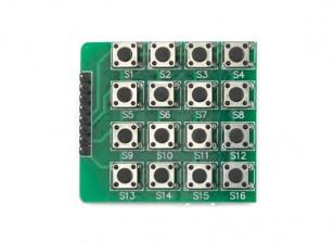 4x4 Kingduino Módulo de botones del teclado