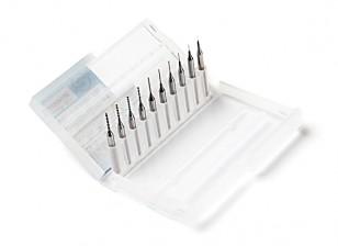 0,1 mm a 1,0 mm Brocas Kit de herramientas para la limpieza de la impresora 3D de la boquilla