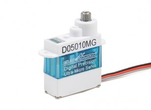 Blue Arrow D05010MG DS MG Ultra-Micro Servo 20T 1.3kg / 0.07sec / 5.7g