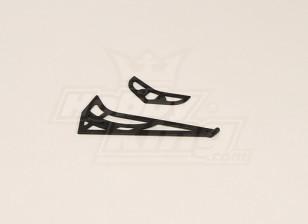 GT450PRO plástico horizontal / vertical de la aleta caudal