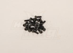 Cabeza hueca Tornillo M3x10mm (20 piezas)