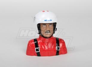 1/4 Modelo Piloto (rojo) (H117 x W113 x D51mm)