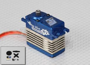 BLS-31A de alto voltaje (7.4V) sin escobillas digital de la aleación del engranaje servo - 31kg / 0.14s / 74g