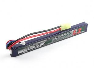 Turnigy nano-tech 1300mah 2S 25 ~ 50C Lipo AIRSOFT Paquete